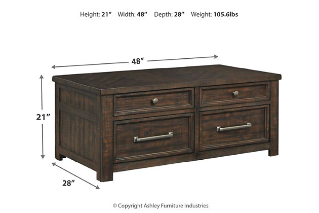 Hillcott Coffee Table, , large