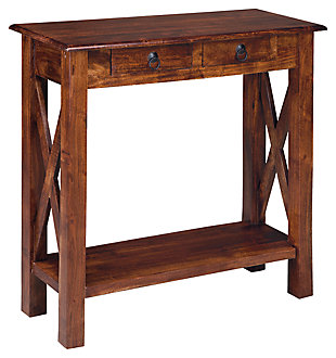 Sofa tables furniture console tables entryway kirklands for Sofa table kirklands