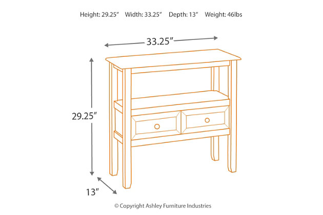 Abbonto Accent Table, , large
