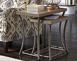 Nartina End Table (Set of 2), , rollover