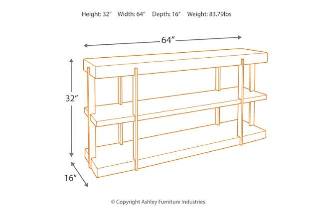 Gantoni Sofa/Console Table, , large