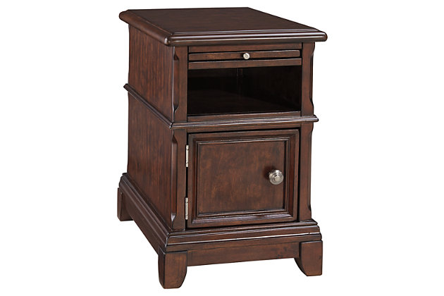 Lavidor Chairside End Table by Ashley HomeStore, Brown