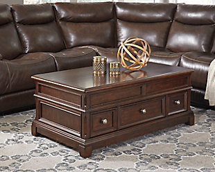 lift-top coffee tables | ashley furniture homestore