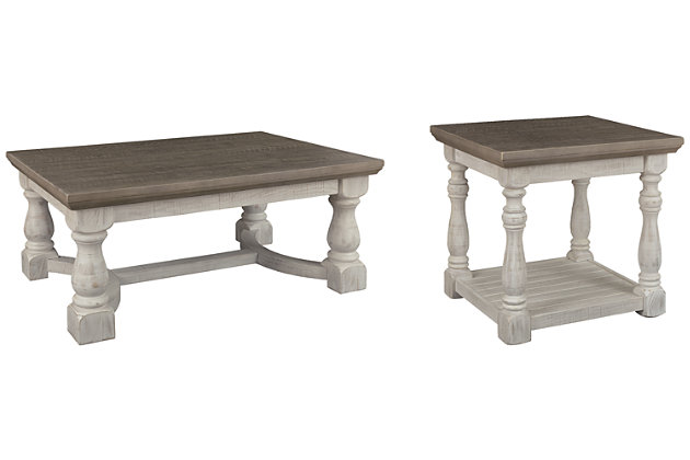 Havalance Coffee Table with 1 End Table, , large