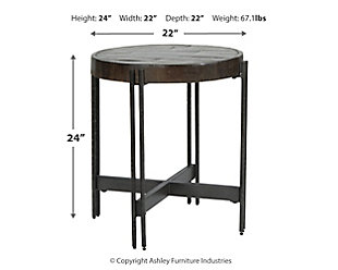 Jillenhurst End Table, , large