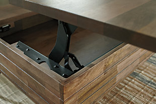 Karmont Coffee Table with Lift Top, , large