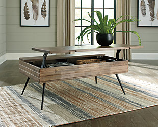 Karmont Coffee Table with Lift Top, , rollover
