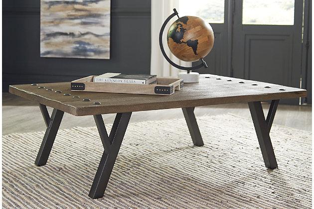 Haffenburg Coffee Table, , large