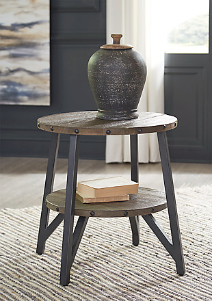 Haffenburg End Table, , large