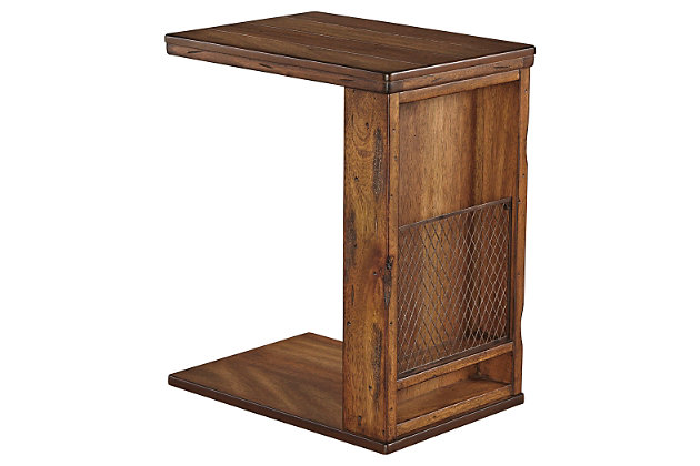 Tamonie Chairside End Table by Ashley HomeStore, Brown