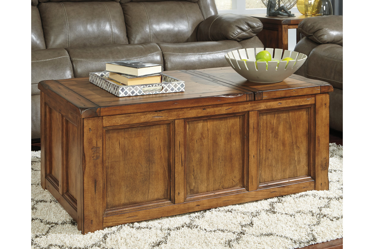 Tamonie coffee table with lift top ashley furniture homestore images tamonie coffee table with lift top geotapseo Images
