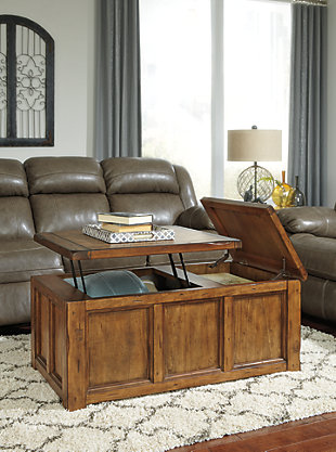 Tamonie Coffee Table with Lift Top, , rollover