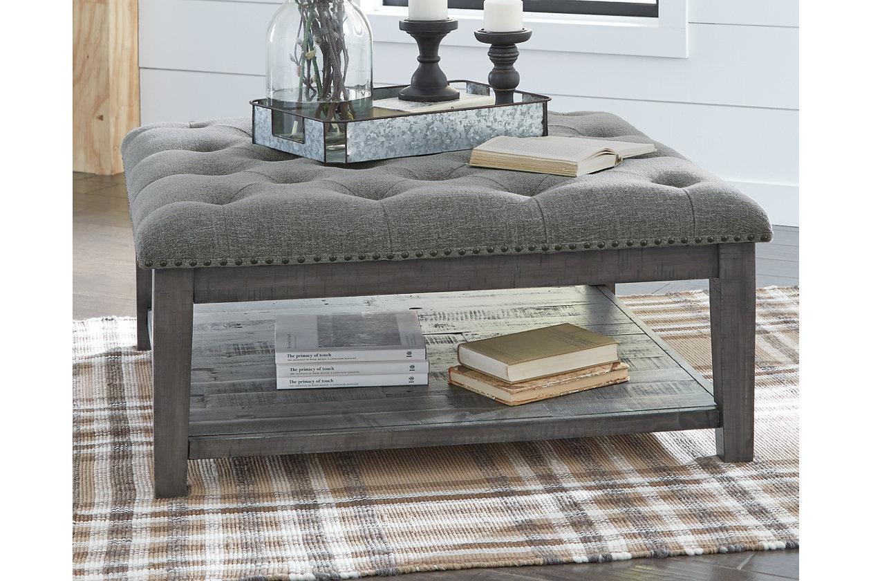 Borlofield Coffee Table Ottoman Ashley Furniture Homestore