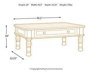Sharlowe Coffee Table, , large