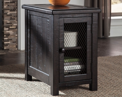 Ashley Sharlowe Chairside End Table, Charcoal