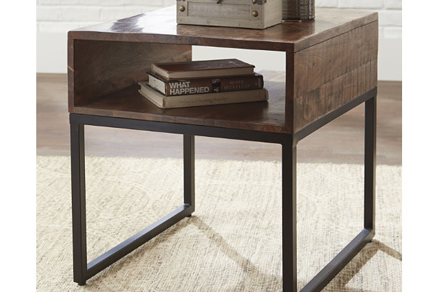 Hirvanton Coffee Table with 1 End Table, , large