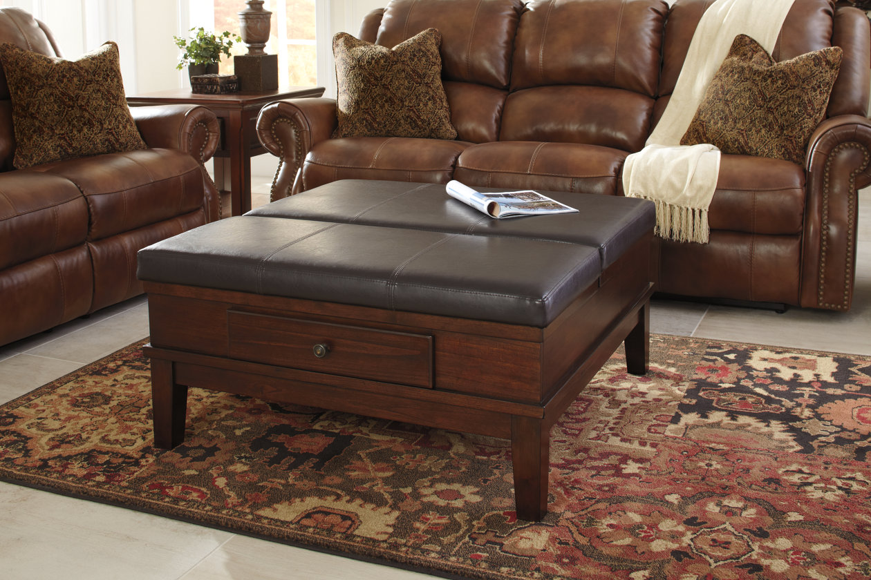 Gately Coffee Table With Lift Top Ashley Furniture Home