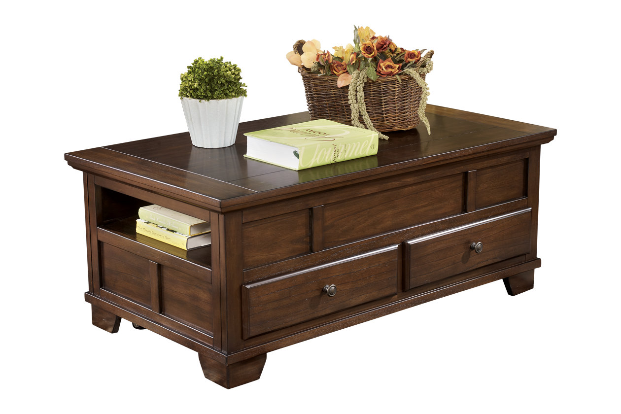Gately coffee table with lift top ashley furniture homestore images gately coffee table with lift top geotapseo Choice Image