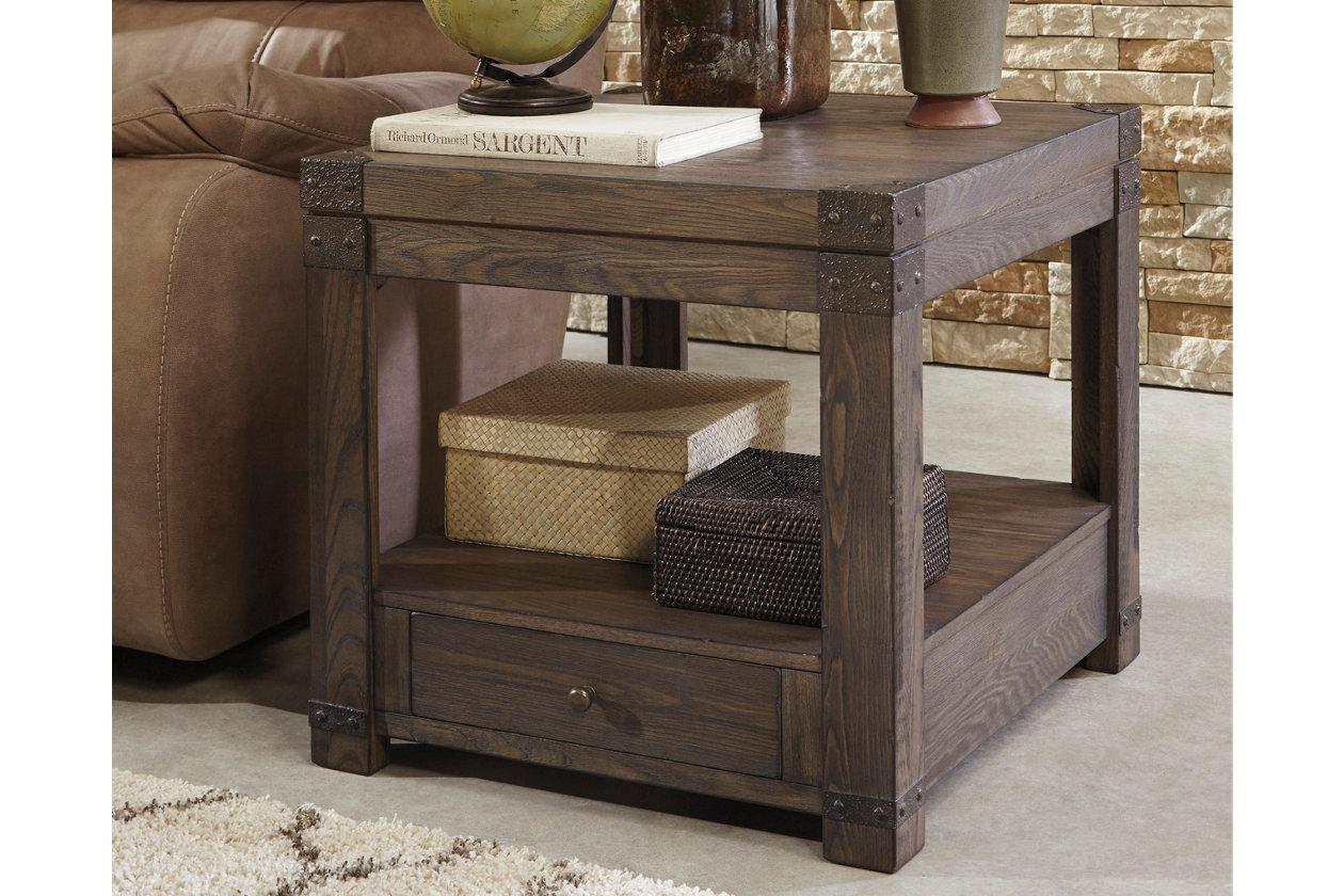Burladen End Table Ashley Furniture Homestore