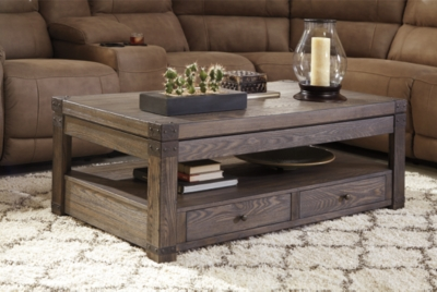 Burladen Coffee Table with Lift TopAshley Furniture HomeStore