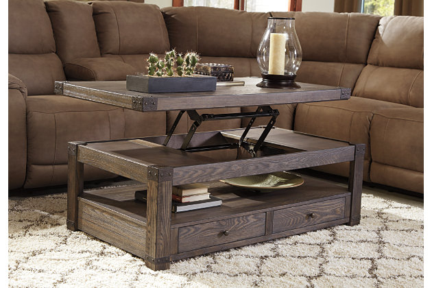 Bon ... Burladen Coffee Table With Lift Top, , Large ...