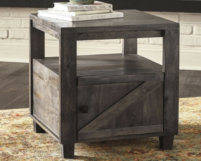 Image of Chaseburg End Table, Light Brown