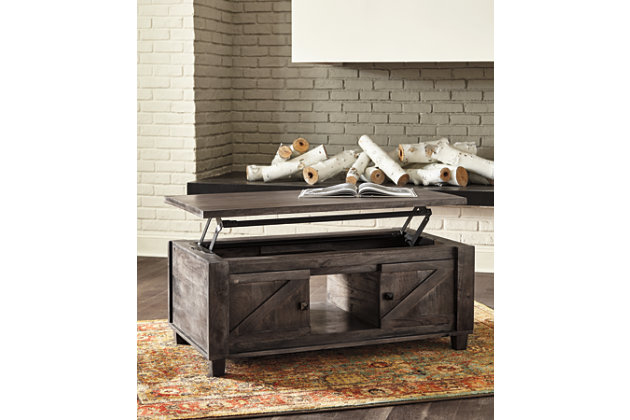 Chaseburg Coffee Table with Lift Top, , large