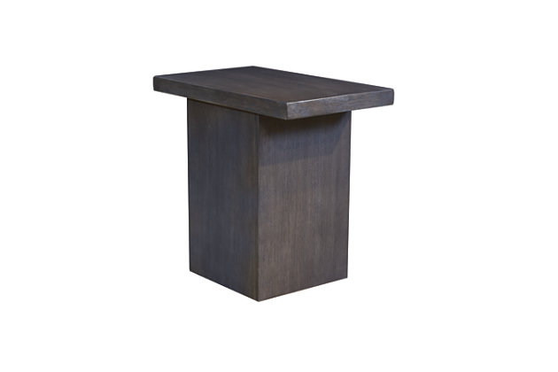 Lamoille Chairside End Table by Ashley HomeStore, Gray