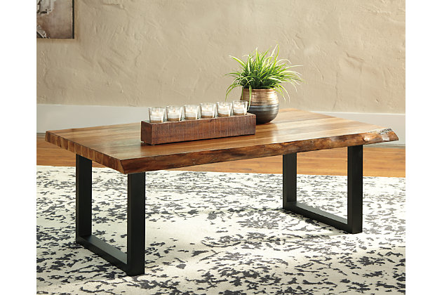 Brosward Coffee Table with 1 End Table, , large