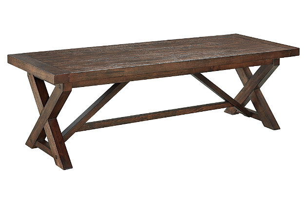 Windville Coffee Table by Ashley HomeStore, Brown