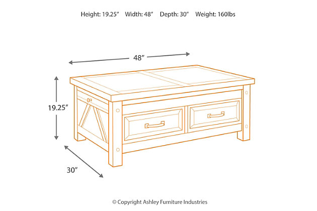 Windville Coffee Table, , large