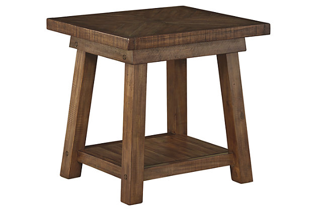 Dondie End Table by Ashley HomeStore, Brown