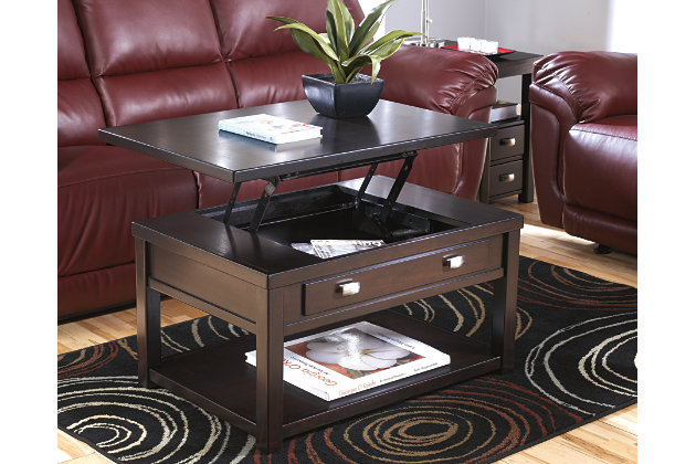 Hatsuko Coffee Table with Lift Top, , large
