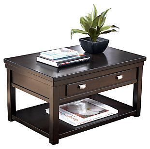 Hatsuko Coffee Table With Lift Top Ashley Furniture Homestore