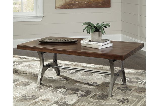 Dresbane Coffee Table by Ashley HomeStore, Brown