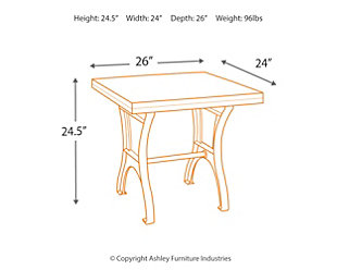 Dresbane End Table, , large