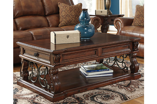 Alymere Coffee Table with Lift Top, , large