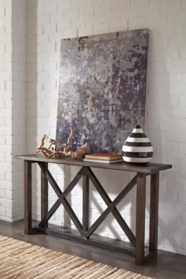 Zenfield SofaConsole Table Ashley Furniture HomeStore