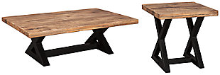 Wesling Coffee Table with 1 End Table, , large
