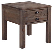 Grayish Brown Table on a white background