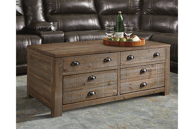 Keeblen Coffee Table with Lift Top by Ashley HomeStore, B...