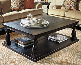 Mallacar Coffee Table  large Ashley Furniture HomeStore