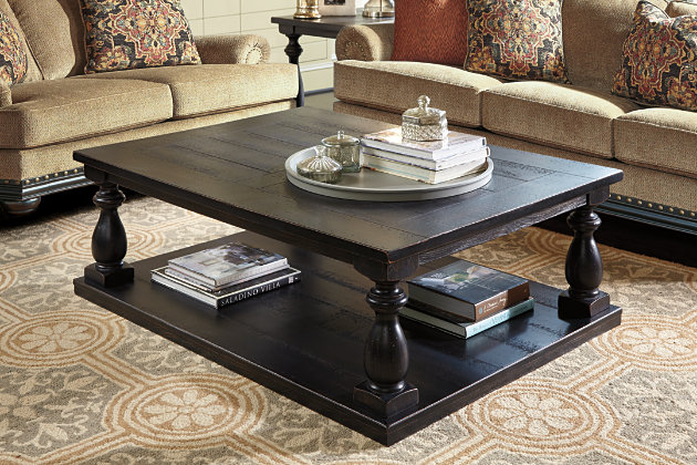 mallacar coffee table ashley furniture homestore