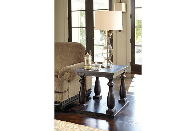 Black Mallacar End Table by Ashley HomeStore