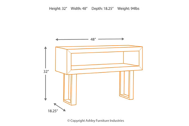 Parlone Sofa/Console Table, , large