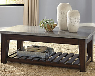 Bynderman Coffee Table with Lift Top, , large