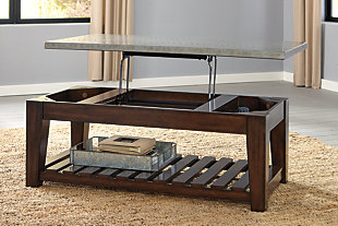 Bynderman Coffee Table with Lift Top, , rollover
