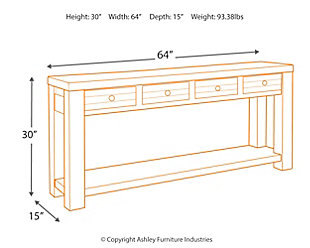 Daybrook Sofa/Console Table, , large