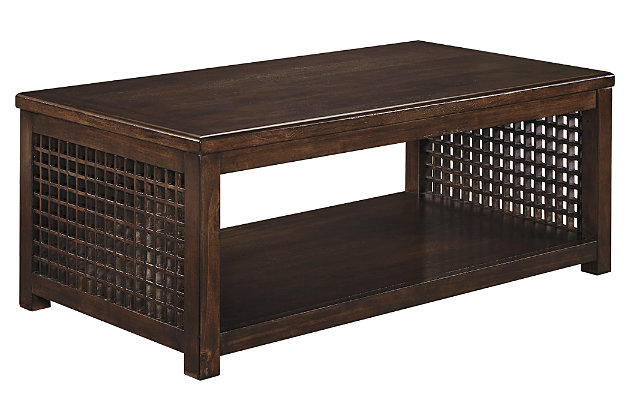 Roxenton Coffee Table by Ashley HomeStore, Brown