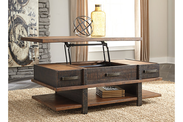 Stanah Coffee Table with Lift Top, , large